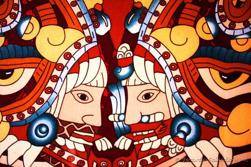 art.aztec deities